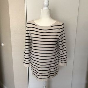 Madewell Striped Crewneck Sweater